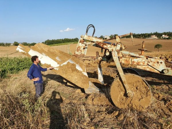 Preparazione del Terreno all'Impianto di un Vigneto